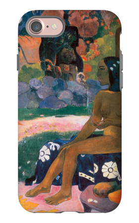 Her Name is Vairaumati iPhone 7 Case by Paul Gauguin