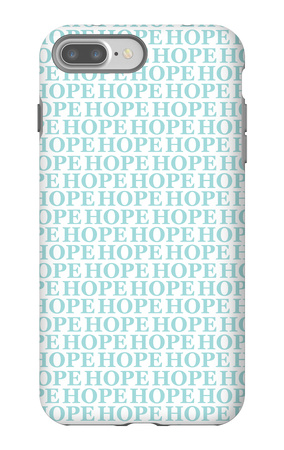Aqua Hope iPhone 7 Plus Case by  Avalisa
