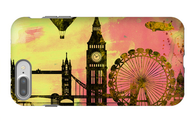 London City Skyline iPhone 7 Plus Case by  NaxArt