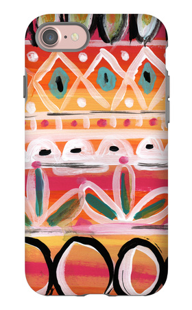 Fiesta V iPhone 7 Case by Linda Woods
