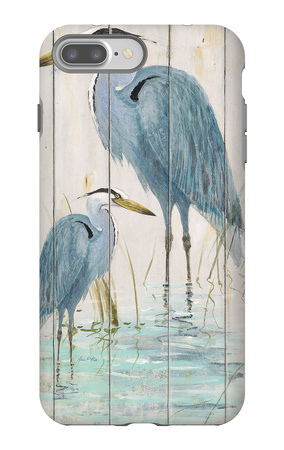 Blue Heron Duo iPhone 7 Plus Case by Arnie Fisk