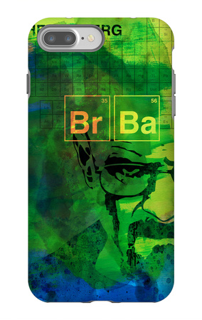 Walter White Watercolor 2 iPhone 7 Plus Case by Anna Malkin