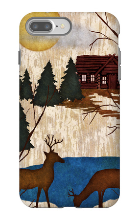 Cabin in the Woods I iPhone 7 Plus Case by Nicholas Biscardi