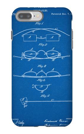 Spectacles, Glasses Patent iPhone 7 Plus Case
