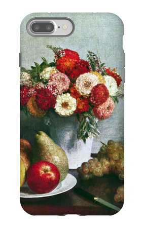 Still-Life with Flowers and Fruit iPhone 7 Plus Case by Henri Fantin-Latour
