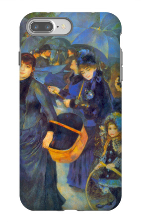 Les Para Pluies iPhone 7 Plus Case by Pierre-Auguste Renoir