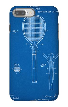 Tennis Racket Patent iPhone 7 Plus Case!