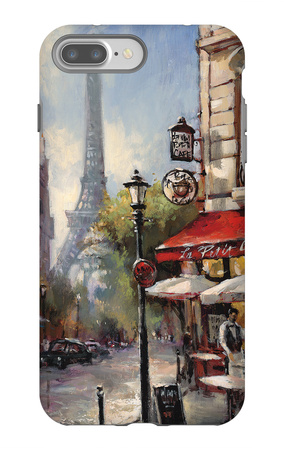 Tour De Eiffel View iPhone 7 Plus Case by Brent Heighton