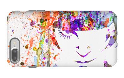 Clockwork Watercolor iPhone 7 Plus Case by Anna Malkin