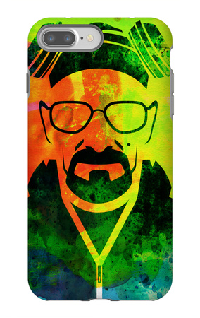 Walter White Watercolor 1 iPhone 7 Plus Case by Anna Malkin