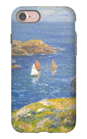 Calm Seas iPhone 7 Case by Henry Moret