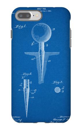 Golf Tee Patent iPhone 7 Plus Case