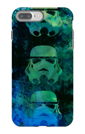 Star Warriors Watercolor 1 iPhone 7 Plus Case by Anna Malkin