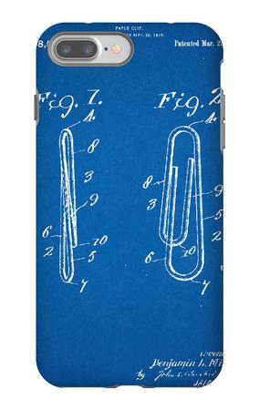 Paper Clip Patent iPhone 7 Plus Case