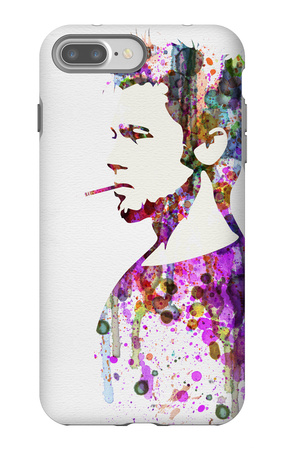 Fight Club Watercolor iPhone 7 Plus Case by Anna Malkin