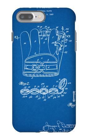 Baseball Glove Patent 1937 iPhone 7 Plus Case