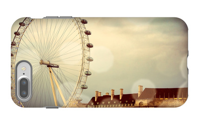 London Ferris Wheel iPhone 7 Plus Case by Emily Navas
