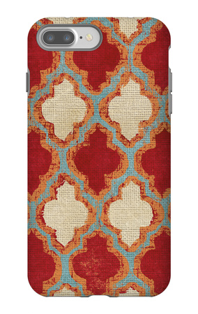 Moroccan Modele II iPhone 7 Plus Case by Elizabeth Medley