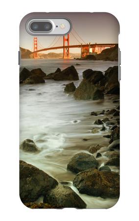 Baker Beach and the Golden Gate Bridge iPhone 7 Plus Case by Vincent James