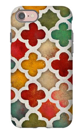 Color Burst Lattice I iPhone 7 Case by Lanie Loreth