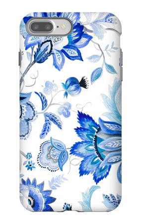 Capri Floral I iPhone 7 Plus Case by Lanie Loreth