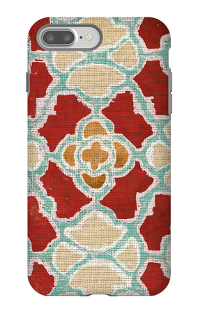 Moroccan Modele I iPhone 7 Plus Case by Elizabeth Medley