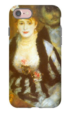 Theatre Box iPhone 7 Case by Pierre-Auguste Renoir