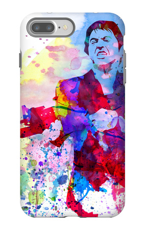 Scar Watercolor iPhone 7 Plus Case by Anna Malkin