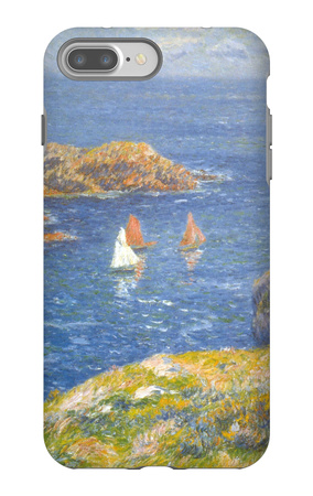 Calm Seas iPhone 7 Plus Case by Henry Moret
