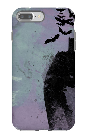 Batman Watercolor iPhone 7 Plus Case by Anna Malkin