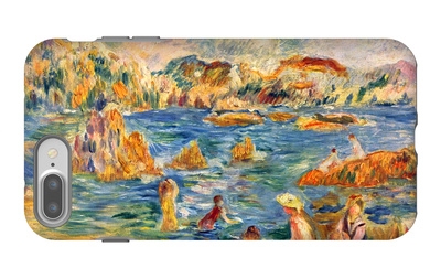 At the Beach of Guernesey iPhone 7 Plus Case by Alfred Sisley