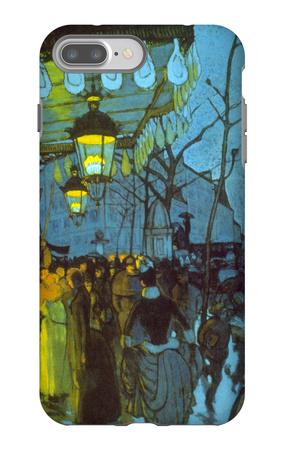 Avenue De Clichy iPhone 7 Plus Case by Louis Anquetin