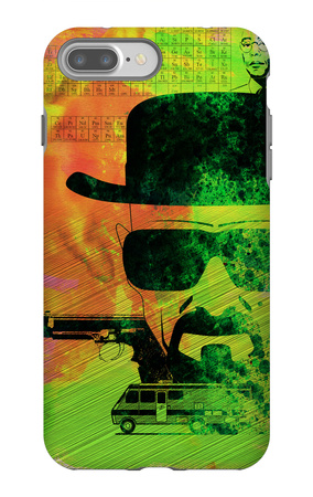 Heisenberg Watercolor iPhone 7 Plus Case by Anna Malkin