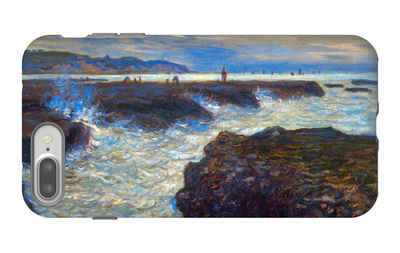 Pourville iPhone 7 Plus Case by Claude Monet