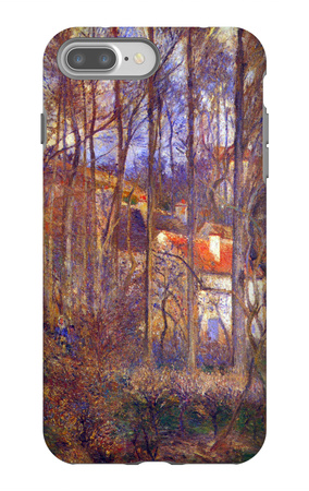 Pontoise, the Côte des Boeufs at the Hermitage iPhone 7 Plus Case by Camille Pissarro