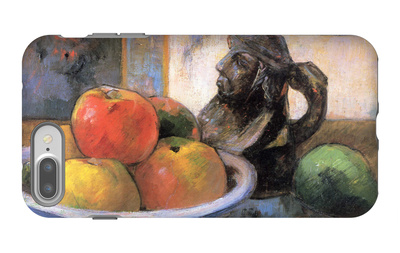 Still Life with Apples, Pears and Krag iPhone 7 Plus Case by Paul Gauguin