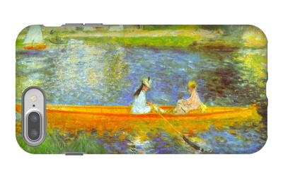 The Seine iPhone 7 Plus Case by Pierre-Auguste Renoir