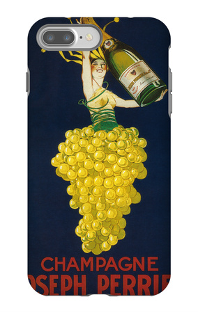 France - Joseph Perrier Champagne Promotional Poster iPhone 7 Plus Case by  Lantern Press