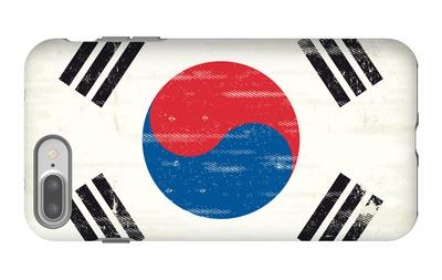 South Korea Grunge Flag. A Flag South Korea With A Texture iPhone 7 Plus Case by  TINTIN75