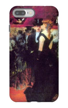 Paris Opera iPhone 7 Plus Case by Jean Louis Forain