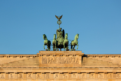Berlin, the Brandenburg Gate, Quadriga Photographic Print by Catharina Lux