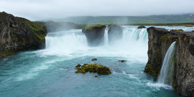 Panorama, Godafoss Photographic Print by Catharina Lux