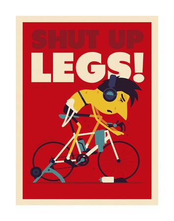 Shut Up Legs Prints by Spencer Wilson