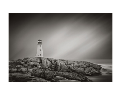Peggy's Cove Lighthouse Posters by Steve Silverman