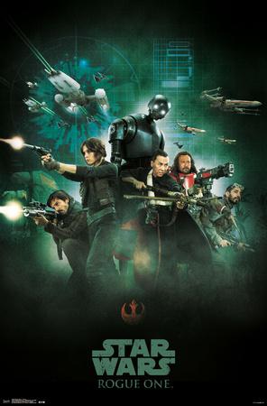Star Wars: Rogue One- Alliance Strike Force Prints