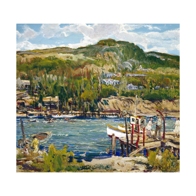 A Windy Day Prints by Charles Reiffel