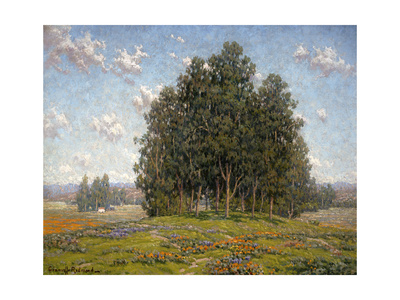 Wildflowers and Eucalyptus Prints by Granville Redmond