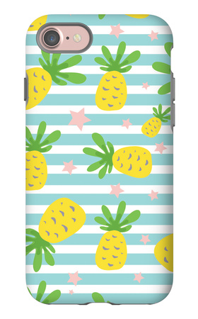 Seamless Pineapple Pattern iPhone 7 Case by  626055