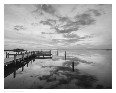 Dock Sunset Prints by Eve Turek