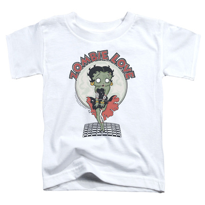 Toddler: Betty Boop- Breezy Zombie Love T-shirts